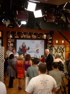 Yeah, that time I was on the Chew.