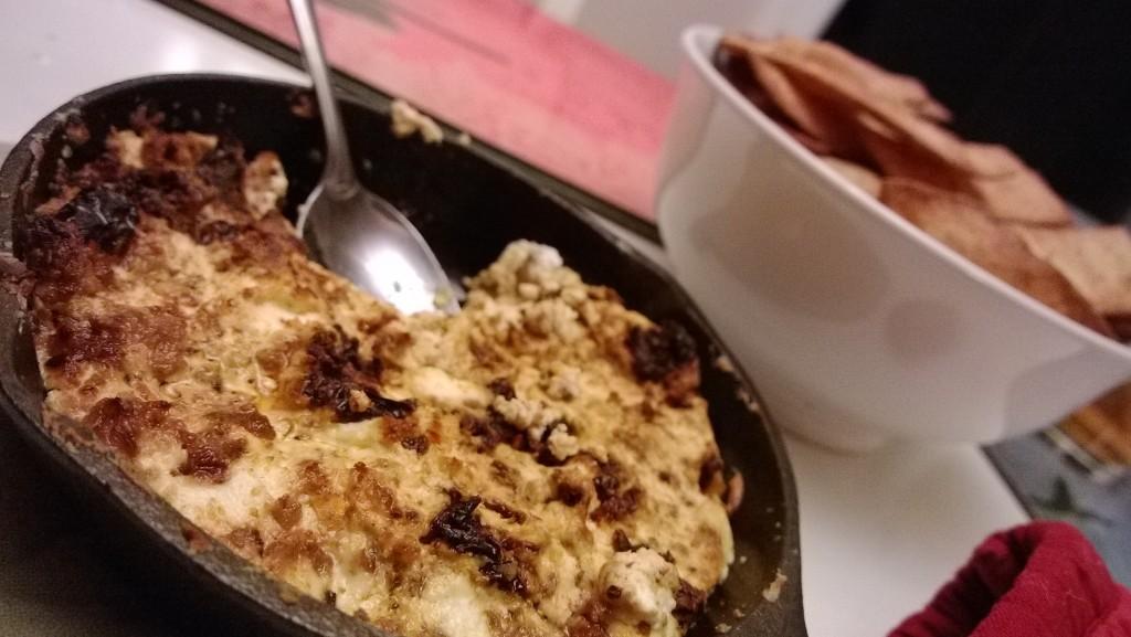 Chorizo Goat Cheese Dip