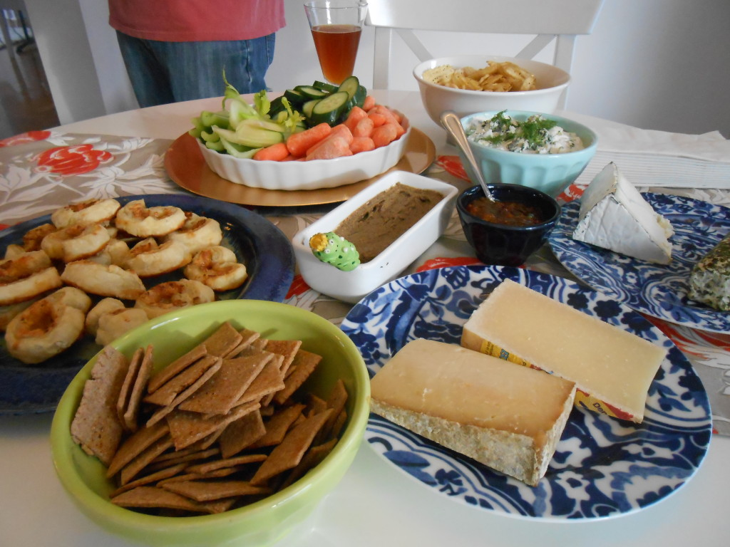 Another shot, this one with the wheat thins.  They win! Blog post soon on those :)